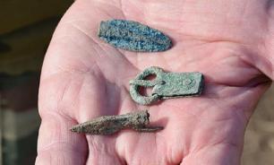 На Кубани нашли древний нож, которому 2,5 тыс. лет