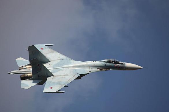 Обнаружено вероятное место падения истребителя Су-27