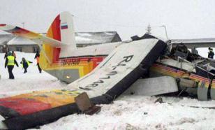 В НАО самолет разбился при взлете: три человека погибли. Видео