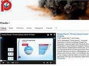 Видеопроект Pravda.Ru - в пятерке лидеров