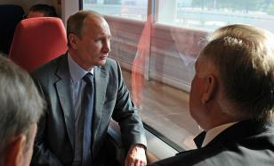 СМИ: Путин не поддержал строительство первого участка ВСМ Москва - Казань
