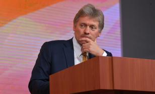 Песков о Донбассе: не видим намерения украинской стороны успокоиться