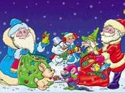 Дед Мороз и Санта сойдутся на границе