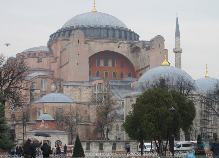 Стали известны новые правила посещения Святой Софии в Стамбуле