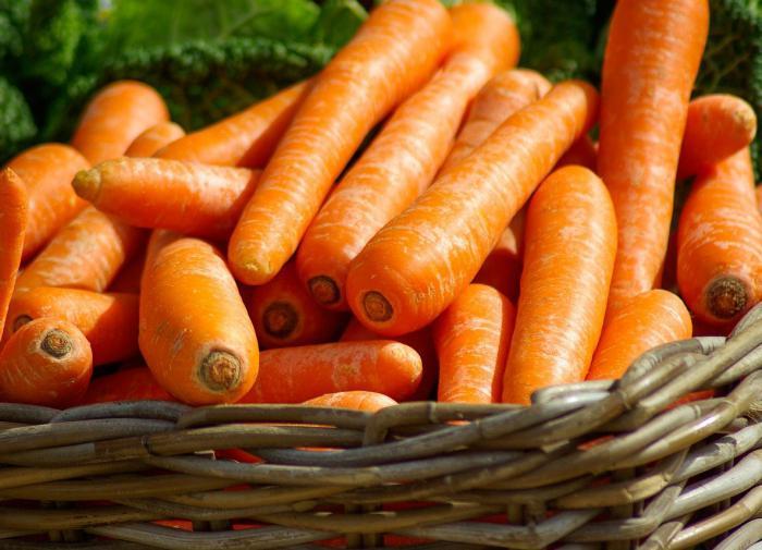 Морковь снижает риск развития онкологических заболеваний