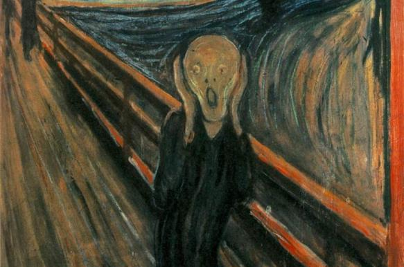 """Исследователи установили причину разрушения картины Мунка """"Крик"""""""