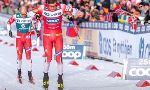 Россия идёт третьей в медальном зачёте ЧМ по лыжным гонкам