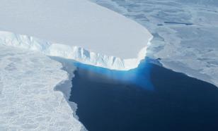 """""""Ледник Судного дня"""" в Антарктиде стремительно тает"""