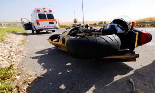 Во время следственного эксперимента погиб мотоциклист