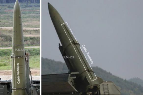 """Военные Южной Кореи нашли сходство ракет КНДР с """"Искандерами"""""""
