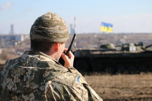 Штаб ООС: разведение сил проходит в утвержденном режиме