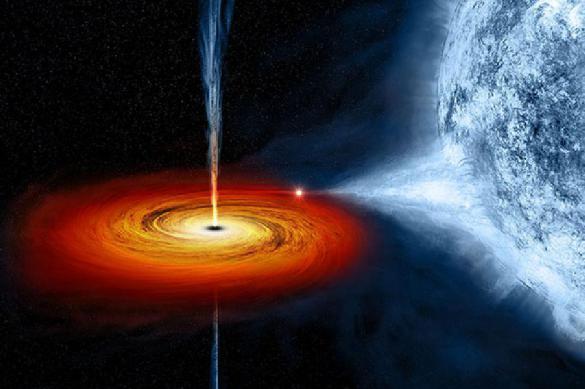 Тройная система черных дыр обнаружена впервые в истории наблюдений