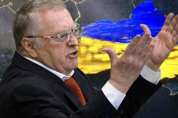 """""""Выбросят, как чемодан без ручки"""": Жириновский считает, что Украина скоро присоединится к России"""