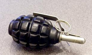 Самарец поскандалил с бывшей женой и бросил гранату в полицейских
