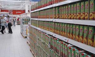 Российские антисанкции могут привести к дефициту еды в стране