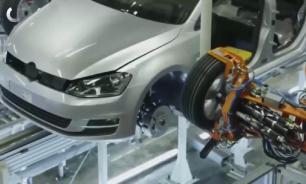Сборка автомобилей Volkswagen  в России приостановлена