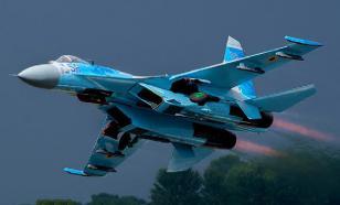В интернете появилось видео перехвата самолета-разведчика США российским истребителем