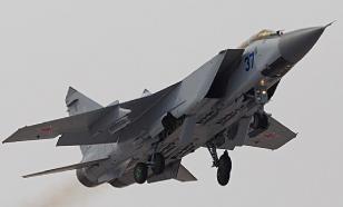 Российский истребитель МиГ-31 перехватил самолёт-разведчик США