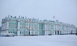 Туристы из РФ выгоняют китайцев из Эрмитажа в Петербурге