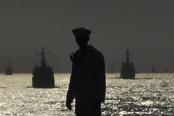 Российский флот охранял саммит Путина и Трампа
