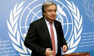 Генсек ООН Антониу Гутерриш сделал прививку от коронавируса