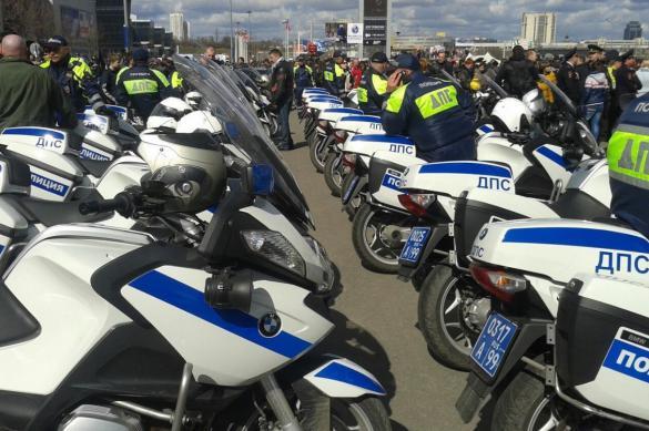 Мотобатальон ДПС начал патрулирование дорог Подмосковья