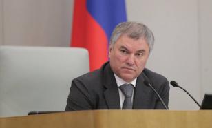 """Насоздавали и молчат"": спикер Госдумы потребовал от Запада компенсации за коронавирус"