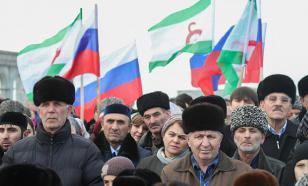 Протестующие в Магасе требуют отставки правительства Ингушетии