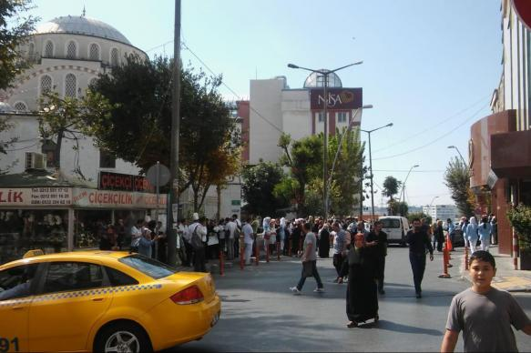 """Землетрясение в Стамбуле вызвало """"большую панику"""" среди населения"""