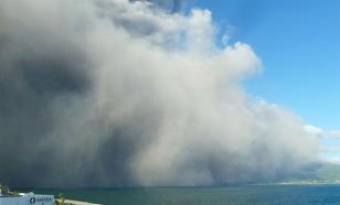 Новое мощное извержение вулкана Сакурадзима произошло в Японии