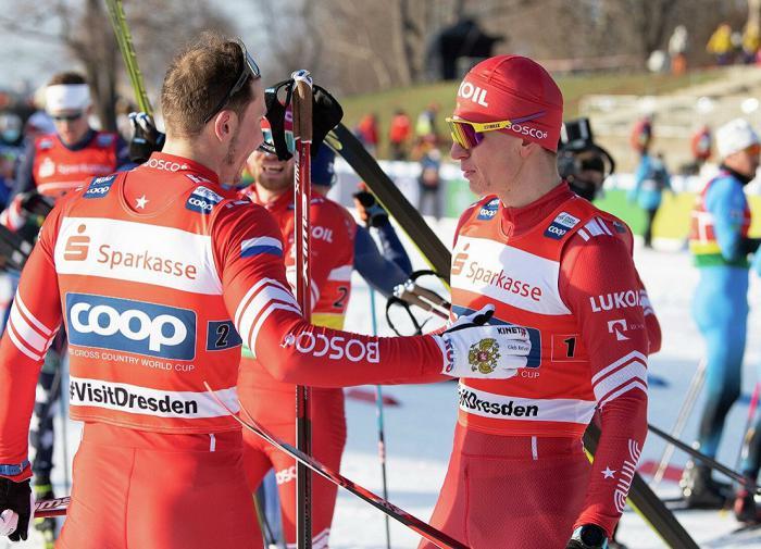 Большунов и Ретивых взяли бронзу в командном спринте лыжного ЧМ