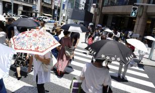 Жители Токио попали в больницы из-за палящего солнца