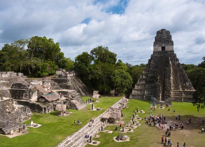 Древний город майя преподнёс новое открытие
