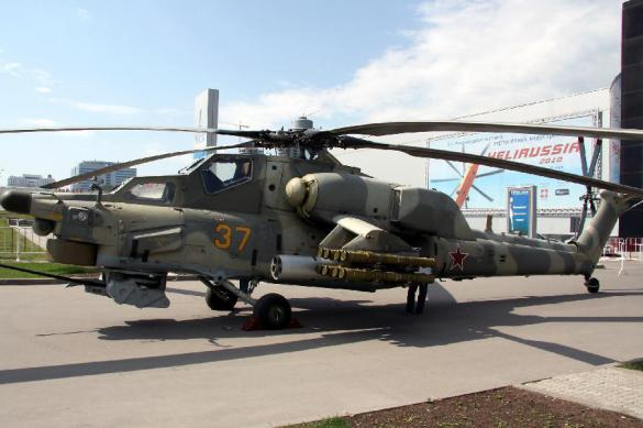 Россия сделает из вертолетов Ми-28НМ истребители