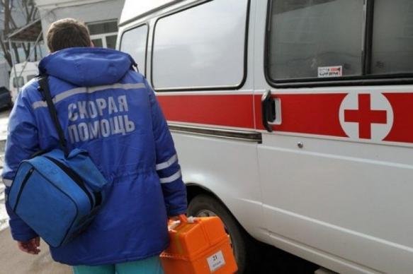 """В Петербурге пациентка избила фельдшера """"скорой помощи"""""""