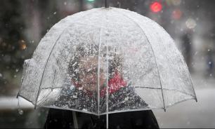 МЧС предупредило о мокром снеге в Москве