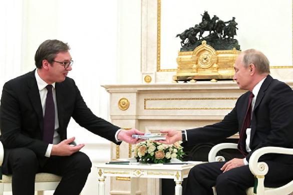 Президент Сербии попросит помощи у Путина из-за подорожания газа