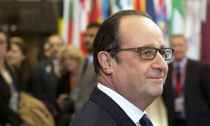 """Олланд назвал """"уроном имиджу страны"""" драку членов центрального совета AirFrance"""