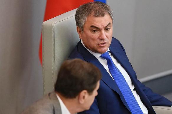 Володин посчитал циничной провокацией допрос депутата Госдумы в США
