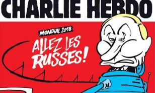 Путин въехал на обложку Charlie Hebdo на танке