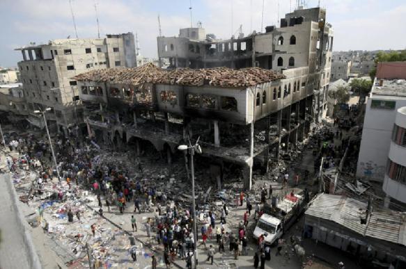 """В секторе Газа проходят акции """"Великий марш возвращения"""""""