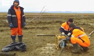 Разлив дизтоплива на месте катастрофы в Норильске локализован