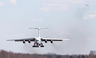 Десятый самолет Ил-76 с военными и оборудованием прибыл в Италию