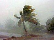 По Юкатану ударил атлантический шторм