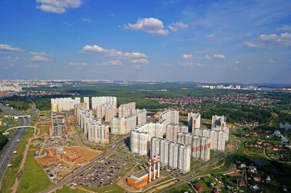 Объем предложения в новой Москве снизился почти на 27% за год