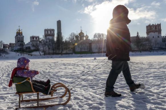 """Синоптики предсказывают """"вишневую"""" зиму в Москве"""