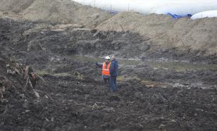 """С места ЧП в Норильске вывезено более ста тысяч тонн """"грязного"""" грунта"""