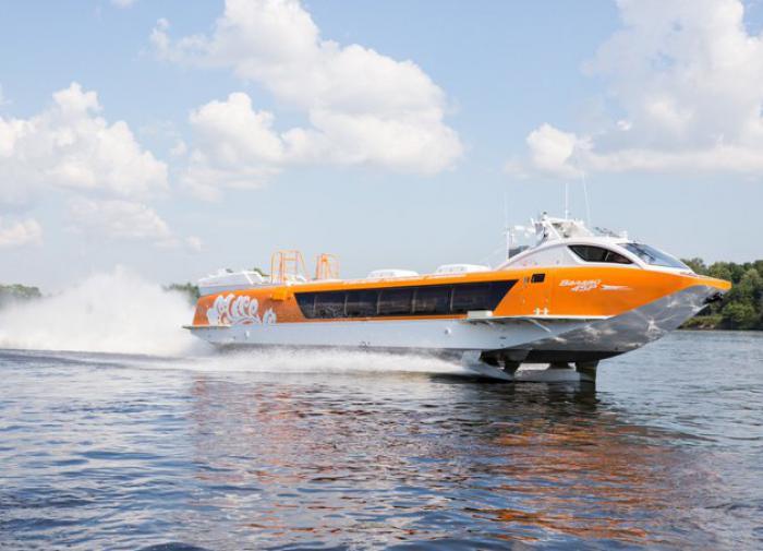 Власти Чувашии закупят для туристов суда на подводных крыльях