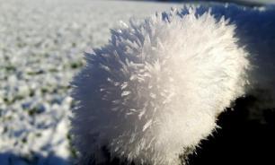 """В шотландской деревне Комри нашли """"мохнатый лед"""""""