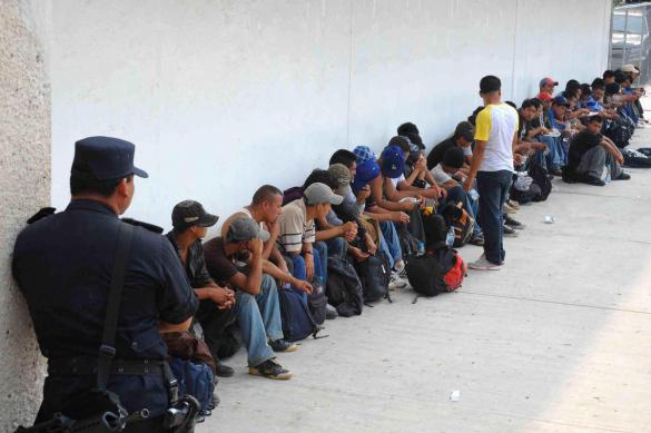 Мексика депортировала почти всех мигрантов